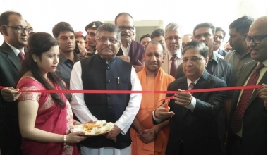 Launch of Tele-Law at Lucknow